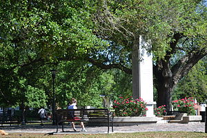 Leonidas, New Orleans - Center part of Palmer Park