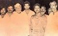 Pandit Vikash Maharaj and Bharat Ratna Ustad Bismillah Khan in Varanasi 1987.tiff