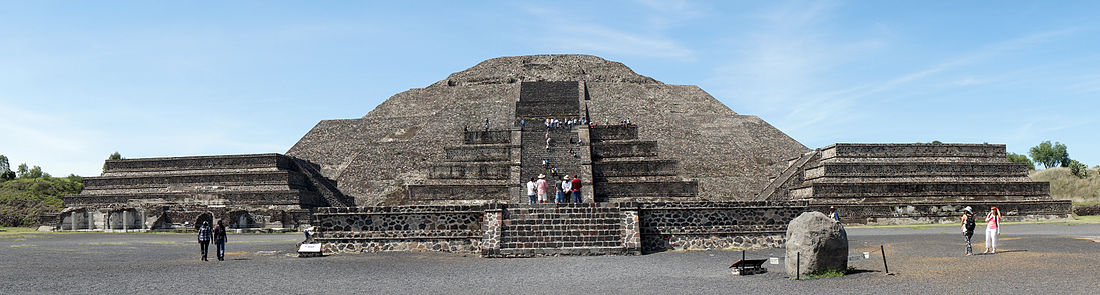 Pyramid of the Moon, Teotihuacán archaeological site, Mexico