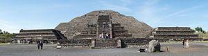 Pyramid of the Moon - Image: Panorama Moon Pyramid Teotihuacan 05 2015 MEX 3358