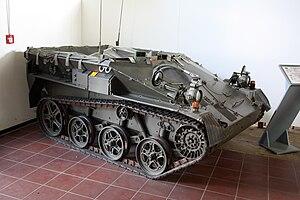 Wiesel AWC - Image: Panzermuseum Munster 2010 1007 (1)