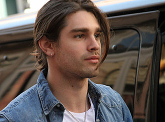 Justin Gaston - Gaston in the French Quarter of New Orleans, Louisiana, in 2010