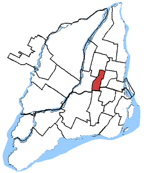 Papineau (electoral district) - Image: Papineau, riding