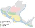 Parc national des Monts-Valin - Unites physiographiques.png