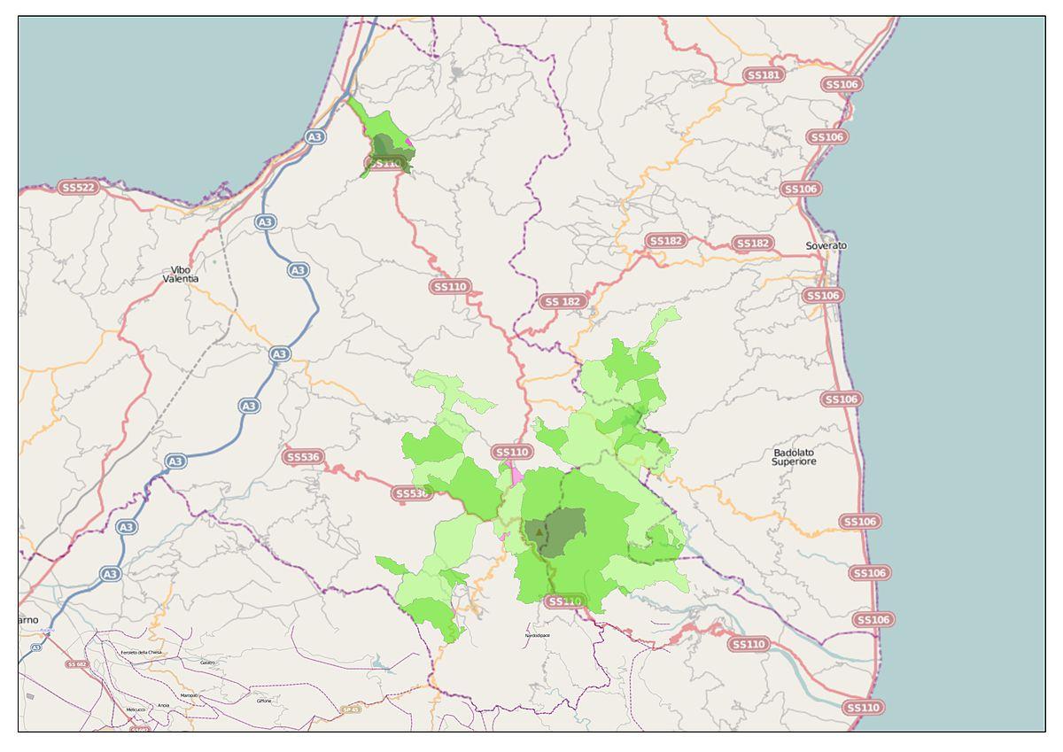 Parco naturale regionale delle serre wikipedia for Pianta della foresta di pioppo