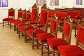 Paris, mairie du 10e arrdt, salle des mariages, chaises 01.jpg