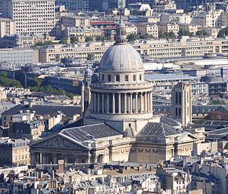 Panthéon mausoleum in Paris