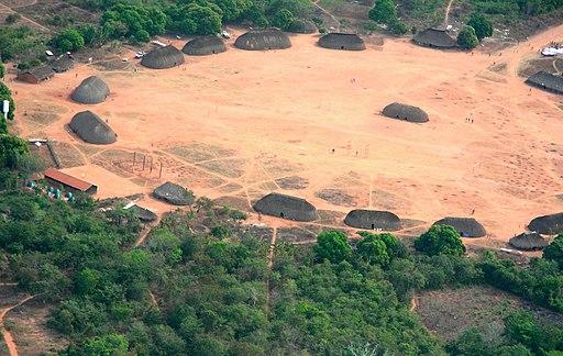 arquitectura indigena xingu