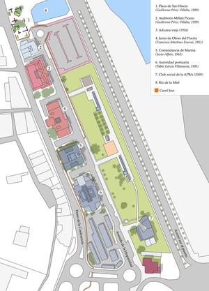 Parque de la Conferencia - Map