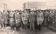 Partisans in Tirana