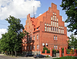 Pasym - Pre-war architecture is still visible in some parts of the city