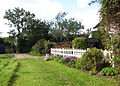 Path past cottage garden - geograph.org.uk - 986063.jpg