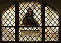Paul Gerhardt Church (Lübben) - stained glass window (Georg Neumark).jpg