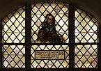 Paul Gerhardt Church (Lübben) - stained glass window (Georg Neumark).jpg