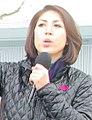 Paulette Jordan at immigration rally (cropped2).jpg