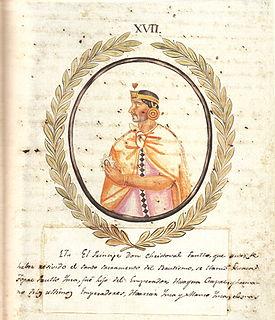 Paullu Inca Sapa Inca (17th)