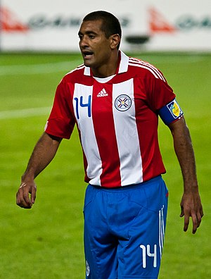Paulo da Silva - Da Silva during a friendly match against Australia in October 2010
