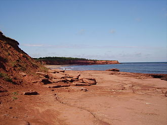 Prince Edward Island National Park - Image: Peicoast