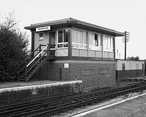 Penyffordd - Penyffordd Station (1987)