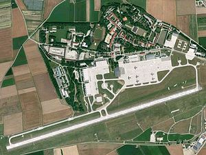 Landsberg-Lech Air Base - Image: Penzing Fliegerhorst Landsberg