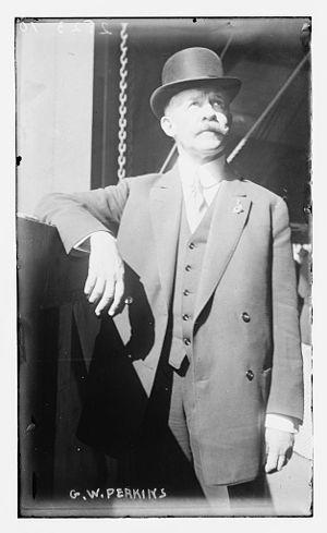 George Walbridge Perkins - Perkins in 1911