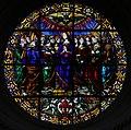 Perugino, vetrata della pentecoste, 01.jpg