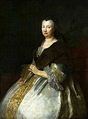 Portret Sophia Hedwig von Tettau