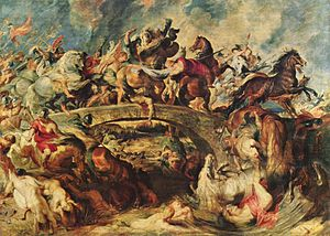 The Battle of the Amazons (Rubens) - Image: Peter Paul Rubens 007