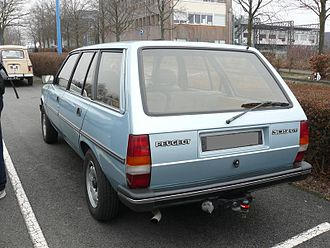 Peugeot 305 - Late 305 GT Break