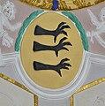 Pfärrich Pfarrkirche Chordecke Wappen Haken.jpg
