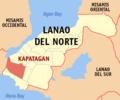 Ph locator lanao del norte kapatagan.png