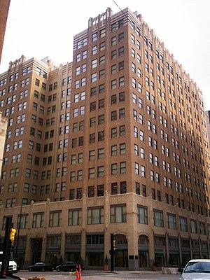 Philcade Building - Image: Philcade in downtown Tulsa