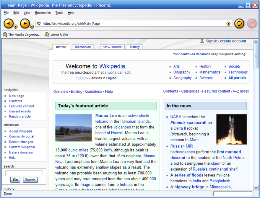 Firefox version history - The Reader Wiki, Reader View of