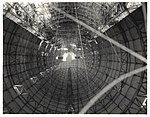 Photograph of the Interior Hull of a Dirigible before Gas Cells were Installed, ca. 1933 (7951502220).jpg