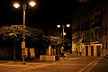 Piazza Italia con nuova Fontana - Calliano (TN) - (Notturno).jpg