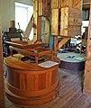 Pickwick Mill interior 04–mill stones.jpg