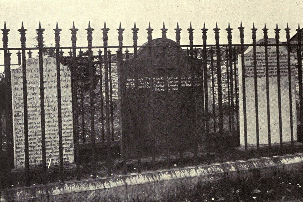 Picture of Carlyle's Grave