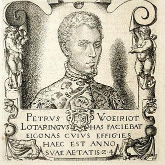 Pierre Woeiriot - Self portrait (1556)