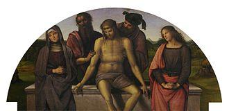 Fano Altarpiece - Lunette.
