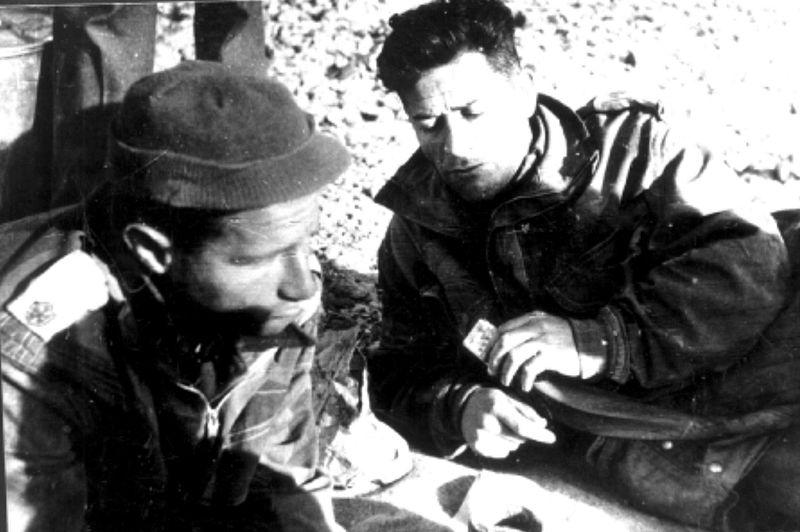 ממפקדי חטיבת הנגב- נחום שריג ועוזי נרקיס