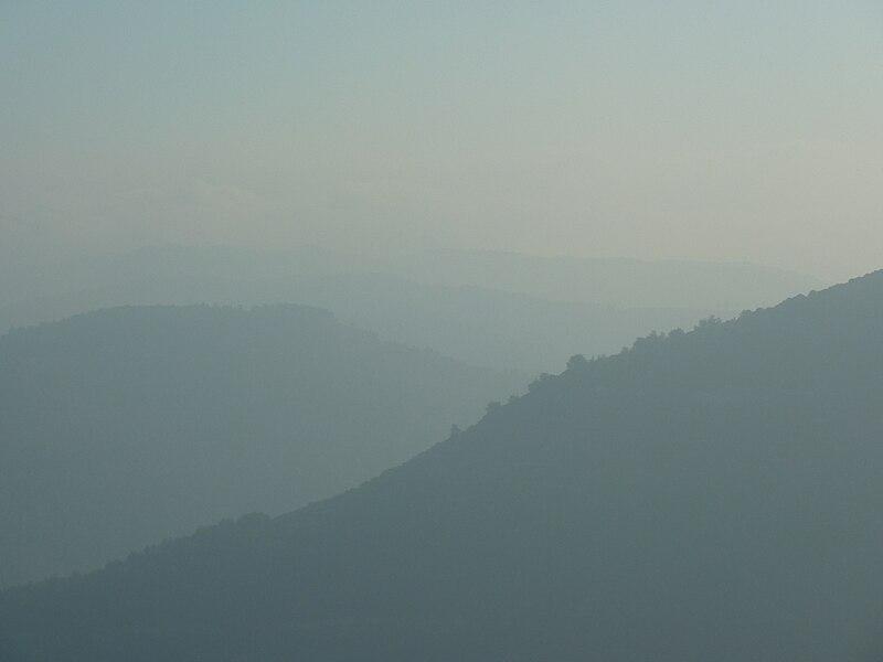 חורף בהרי ירושלים