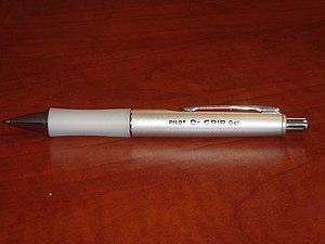 Pilot (pen company) - Image: Pilot Dr. Grip Gel Pen