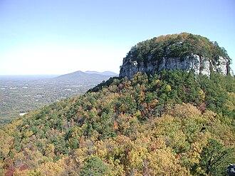 Pilot Mountain (North Carolina) - Image: Pilot Mtn Knob
