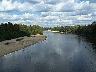 Choctawhatchee River - Near Pittman, Holmes County, Florida