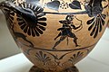 Pittore dell'aquila, hydria ceretana con accecamento di polifemo, cerveteri (con artigiani ionici), 520-530 ac ca., tomba I banditaccia 03 ercole e nesso.jpg