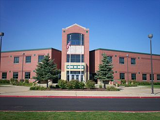 Plainfield, Illinois - Plainfield Central High School