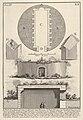 Plan of a tomb on the Appian Way in Vigna Buonamici (Pianta di un sepolcro sull'antica Via Appia nella Vigna Buonamici), from the series 'Le Antichità Romane' MET DP831888.jpg