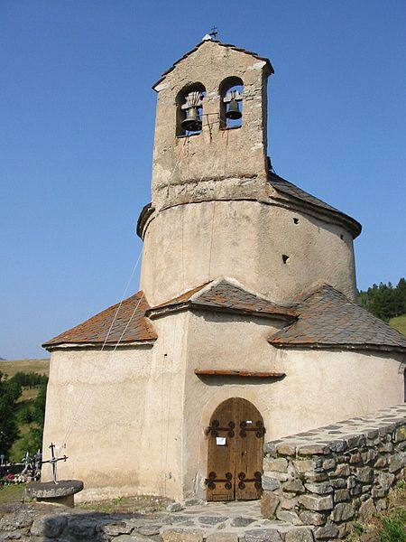 Eglise de Planès, Pyrénées-Orientales, France