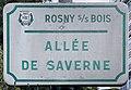 Plaque Allée Saverne - Rosny-sous-Bois (FR93) - 2021-04-15 - 1.jpg