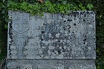 Plaque commémorative du comte Albert du Bois au Parc de la Dodaine à Nivelles.JPG